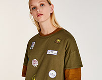 PULL&BEAR-PATCHES PRINT