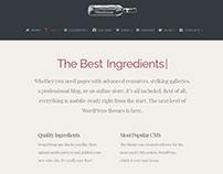 About Page - WineHouse WordPress Theme