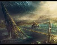 İstanbul Post Apocalyptic Landscape