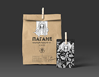 Packaging for Pagane Coffee