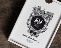 RUSH Brand Identity Design and Brand Illustration