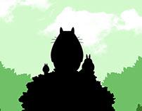 Simple Movie Poster (Studio Ghibli)