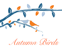 Autumn Bird Wedding Stationery