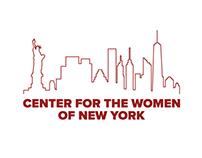 Center For The Women of New York Branding