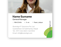 Braindigit ID card