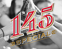 145 Special - anniversary beer