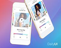 Daily UI Challenge #001 - #010