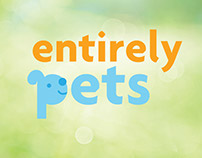 Entirely Pets logo explorations