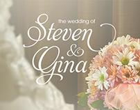 Wedding Photo Retouching for Steven & Gina