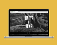 Rivets & Hems: Pants Collection Website
