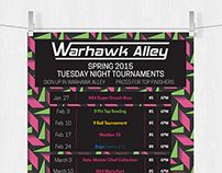 Warhawk Alley Posters
