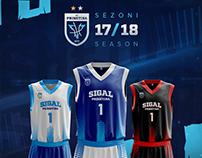 KB Prishtina Jerseys 17/18 Season
