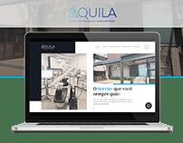 Website - Áquila Saúde