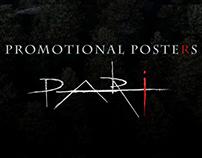 Feature Film PARI -Promotional Posters