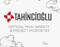 Tahincioglu main website & project microsites