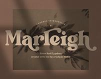 Marleigh - Serif Font Retro Style