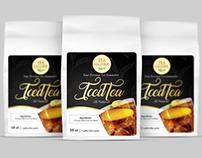 Ice tea, label design