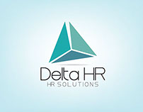 Logo for a HR Comapany Called Delta HR