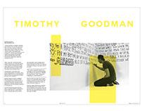 Timothy Goodman Spread