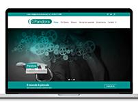 Pandora Service web design