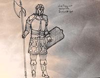 Альвалор | Alvalor. Concept Art (Wariors)