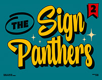 Sign Panthers 2 - Sign Painting Fonts