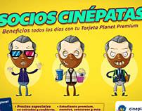 "Cineplanet ""Beneficios Premium"""