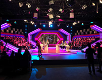 NET TV - Evin Jin u Jyan New Set Lighting Design [2019]