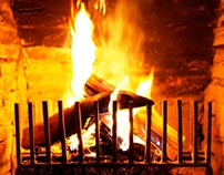 Fireplace series - Poker