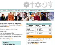 Webbplats - myndighet