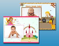 Baby's photo albums