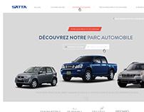 Vehicles Center website