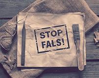 Stop Fals - Website & Logo