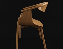 Free 3D model - Chair 003