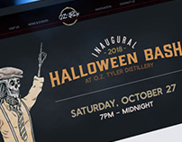 Halloween Bash Event Materials