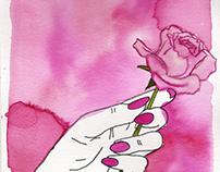 • Hand Flower •