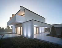 Exterior Visualization | House in São João de Ovar