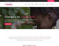 Impart – Charity / Fundraising WordPress Theme