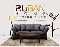 Ruban Home: Coming Soon Page Design