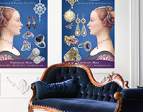 Alana Antique & Estate Jewelry Event Posters