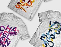 AdDU Palarong Atenista 2015 Divisions Shirt Designs