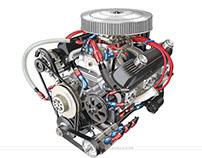 Generic car engines, portfolio 3