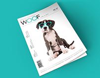 WOOF like a dog - magazine