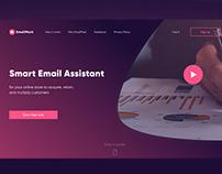 EmailMark Landing page