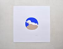 """Kyūshū"" silkscreen print"