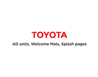 Various Toyota Ad Units