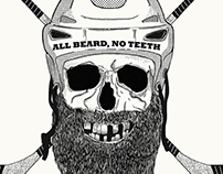 All beard, no teeth