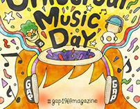 """gap1969magazine """"Universal Music Day"""""""