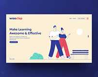 WooClap Website New Concept