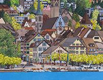 Springtime in Zug
